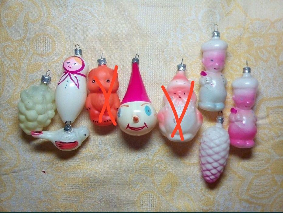 Советские ёлочные игрушки Славянск - изображение 1