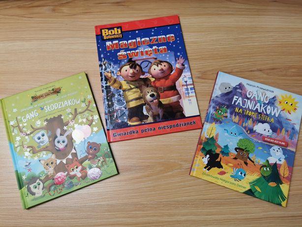 Zestaw super książek Bob Budowniczy, Gang Słodziaków, POLANA, STEFEK