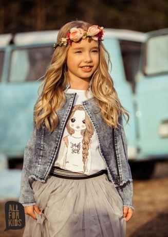 All for Kids ramoneska jeansowa