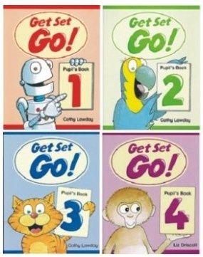 Комплект Get Set – Go! 1,2,3,4,5,6 Work + Pupil's book