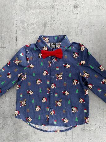 Koszula z muszką muchą święta świąteczna Boże Narodzenie Wigilia