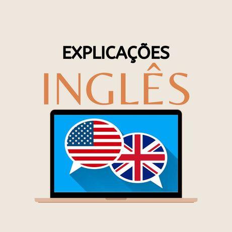 Dou explicações de inglês online