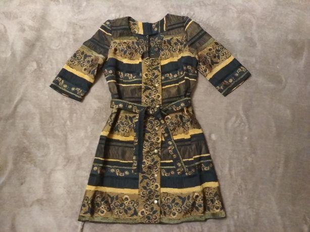 Плаття на кнопки,сукня,піджак
