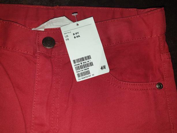 Скинни джинсы слимы H&M,размер 8-9 лет
