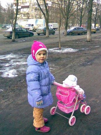 детское пальто на девочку 1.5-3года