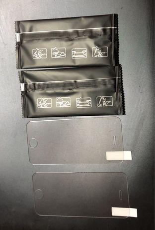 2 peliculas vidro temperado 9H para Iphone 5/ 5S / SE