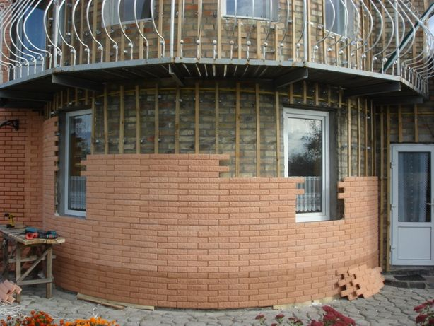 Фасадные работы любой сложности. Утепление пенопластом,