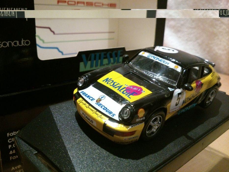 Porsche 911 CARRERA CUP #5 RADIONOSTALGIA, Vitesse skala 1:43 Bielsko-Biała - image 1