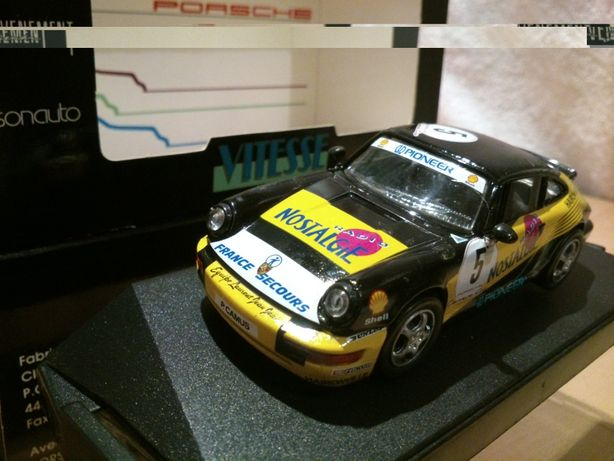 Porsche 911 CARRERA CUP #5 RADIONOSTALGIA, Vitesse skala 1:43