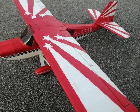 Decathlon electrico brushless;140cms;com flaps;6 servos;variador 40A