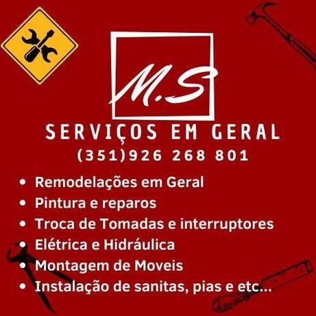 Remodelaçoes e serviços em geral MS