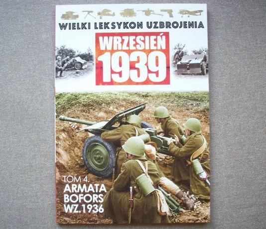 Wielki Leksykon Uzbrojenia, wrzesień 1939 tom 4, armata Bofors wz.1936