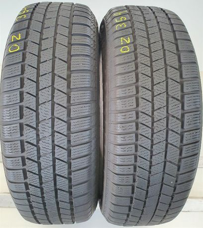 2x 215/65/16 Continental ContiCrossContact Winter 98H OZ354
