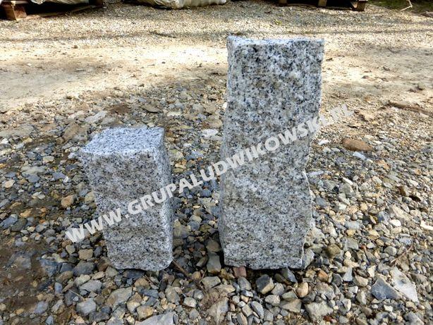 Palisada granitowa Kostka Grys granitowy Obrzeże Gabion Granit Murowy