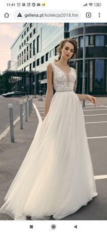 Suknia ślubna Gellena Piper 36