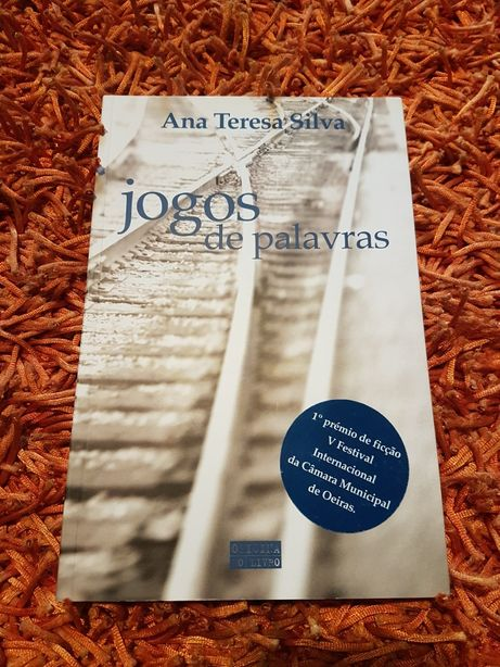 """PORTES GRÁTIS - Livro """"Jogos de Palavras"""" de Ana Teresa Silva"""