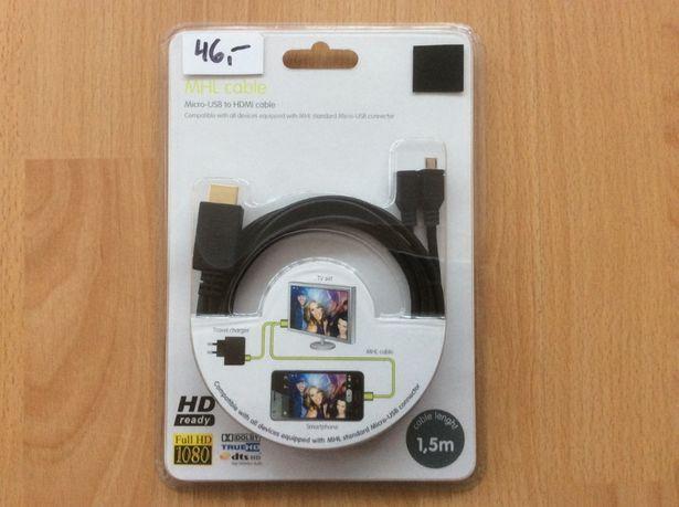 Adapter Smartfon TV HDMI VGA DSUB,przejściówki,kable PS2,PlayStat3,Xbo