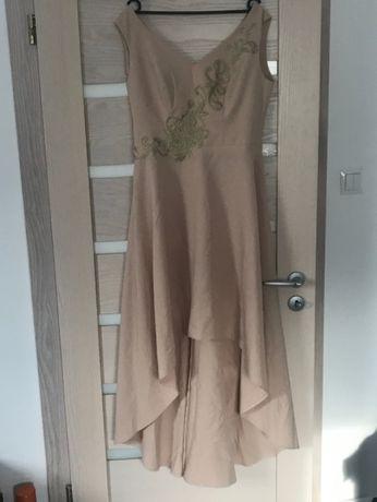 Sukienka roz. 42 asymetryczna