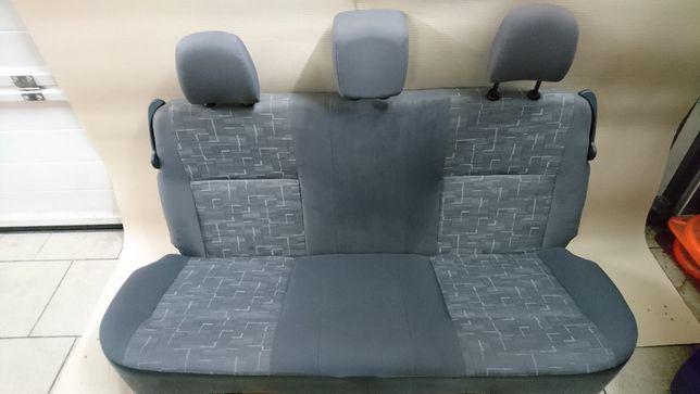 Siedzenia kompletne przód i tył Dacia Sandero 1.4