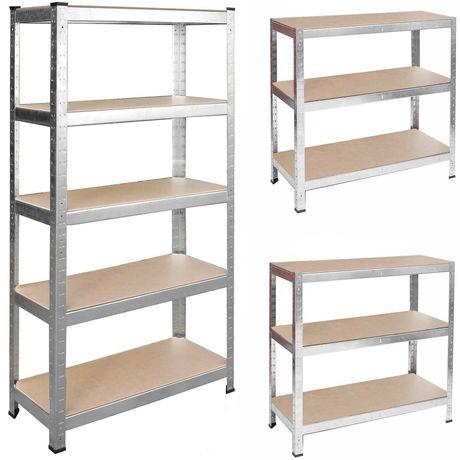 Regał metalowy magazynowy 205 x 120 x 45 Humberg 4850