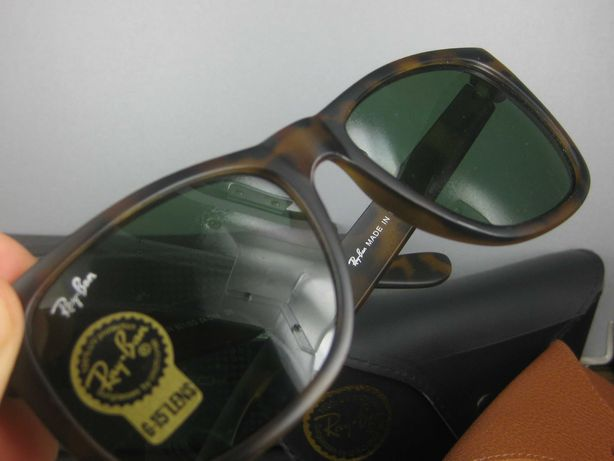 Ray ban oculos sol justin 4165 wayfarer 2140 tortoise castanho rayban