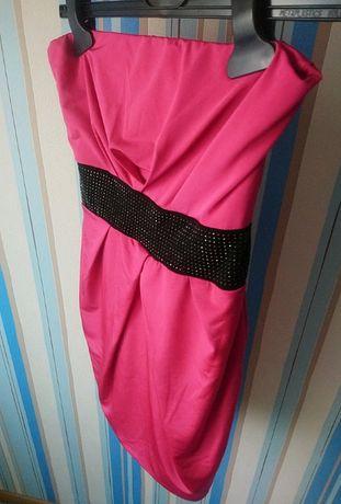Sukienka tally weijl różowa bombka