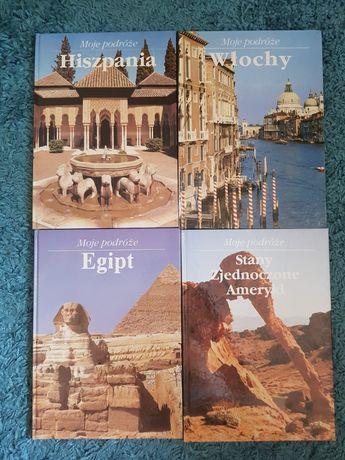 Moje podróże: Hiszpania, Włochy,Egipt, Stany Zjednoczone