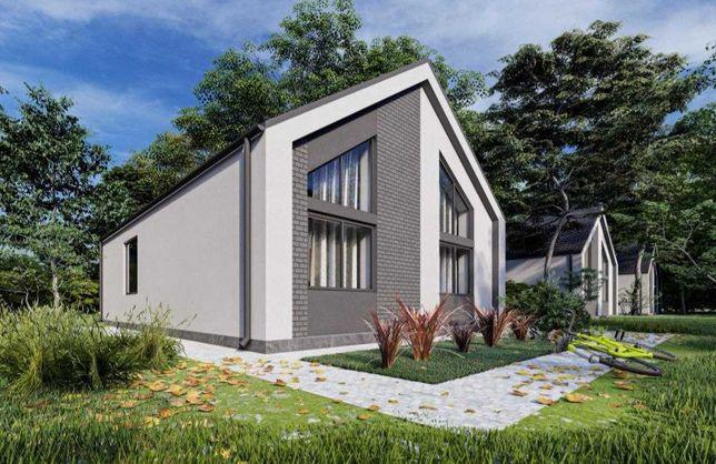 Продам 1 поверховий будинок у скандинавському стилі. Ворзель!