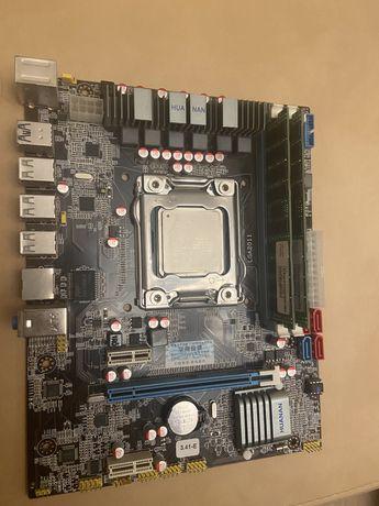 Huanan X79 E5 3.41 (s2011, Intel X79) / Huananzhi  + E5 2650+DDR3 32gb