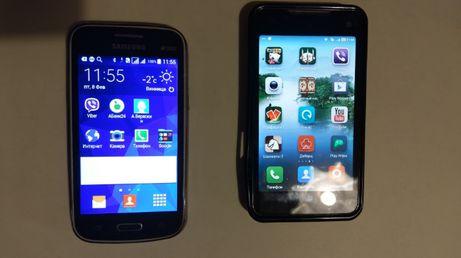 Два рабочих телефона Samsung+Sky одним лотом