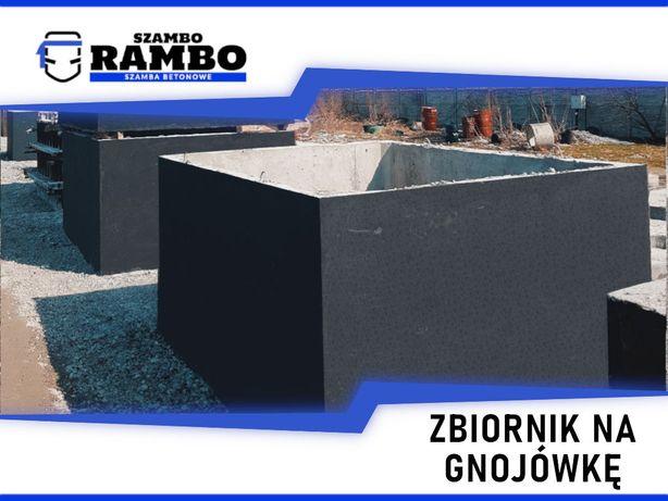 Zbiornik Betonowy 4m3 Na Gnojówkę Wodę Deszczówkę Szambo Betonowe