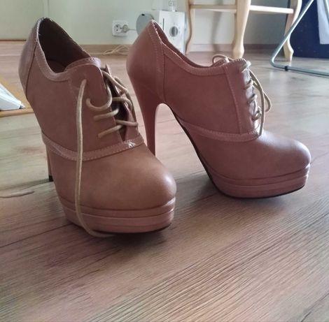 Piękne, nowe buty! Botki, szpilki