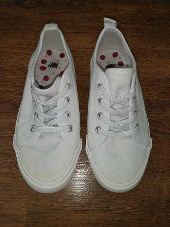 Białe trampki H&M rozmiar 31