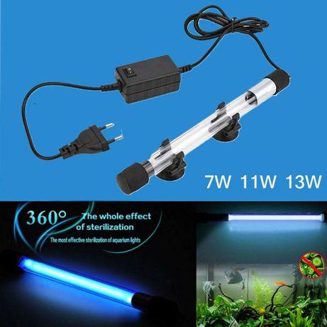 Lâmpada esterilização aquário UVC 13W