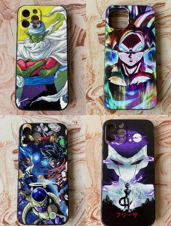 4 różne Etui Dragon Ball - Iphone12/12 Pro - cena za komplet