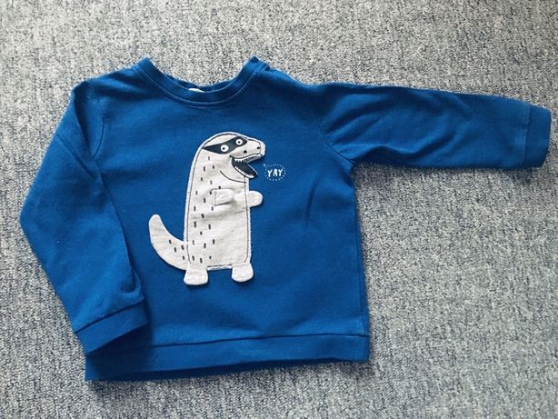 Bluza KappAhl r. 80/86 Dinozaur