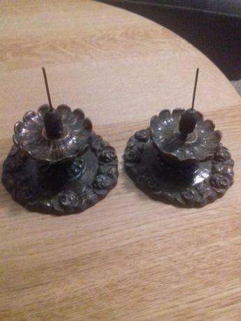 Stare świeczniki