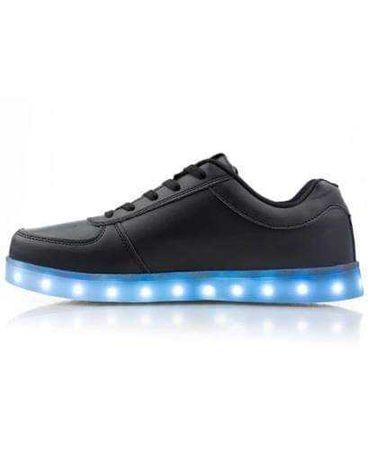 Buty led że swiatelkami