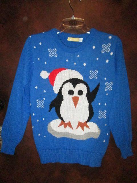 sweter świąteczny Boże Narodzenie na 11 - 12 lat Nowy Szczecinek - image 1