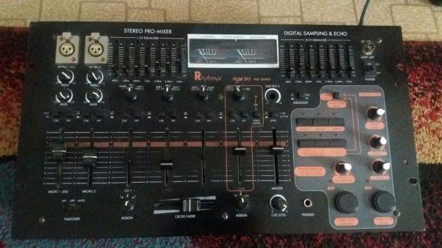 Mesa de mistura audio Rhythmyx RYM 303 Pro series