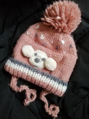 Шапка Zara baby на завязках