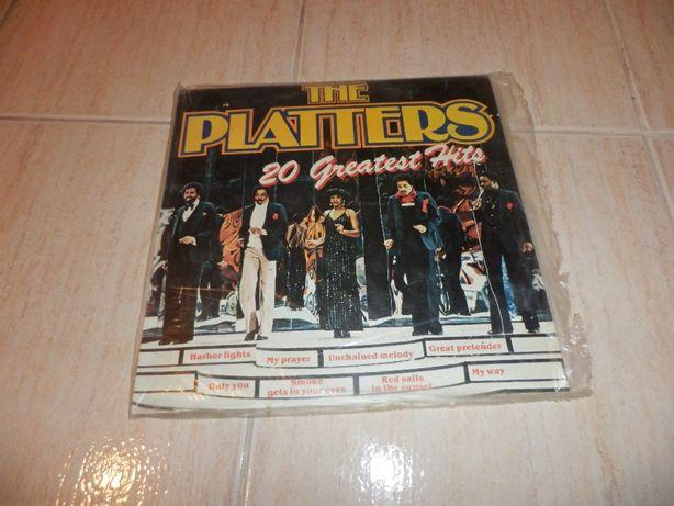 "Disco Vinil The Platters ""20 Greatest Hits"""