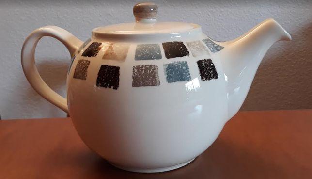 Bule de chá em faiança SECLA