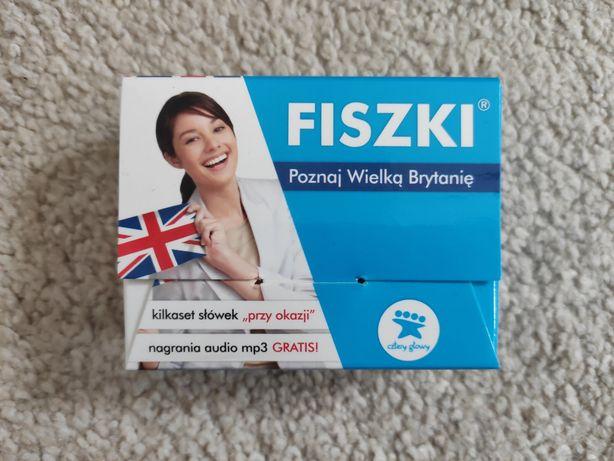 """Fiszki język angielski """"Poznaj Wielką Brytanię"""""""