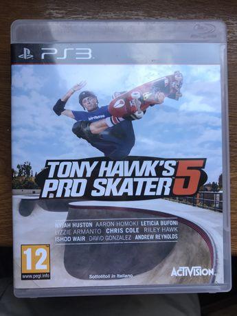 Tony Hawk Pro Skater 5 Konsola ps3 (stacja gier) Activision