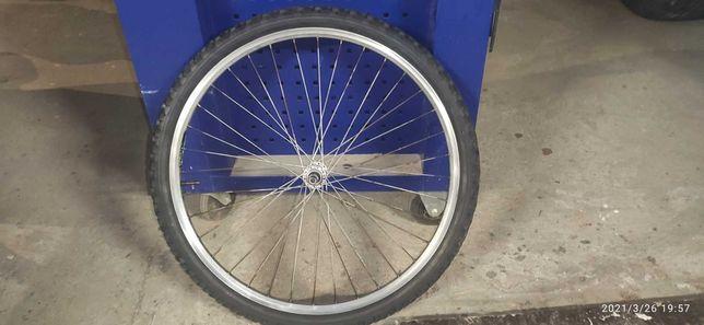 Koło rowerowe przód 26 cali komplet