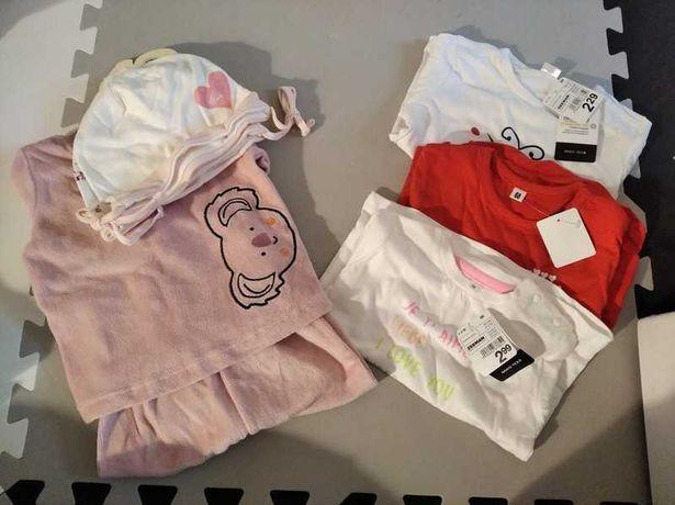 Zestaw dres i bluzeczki dziewczęce