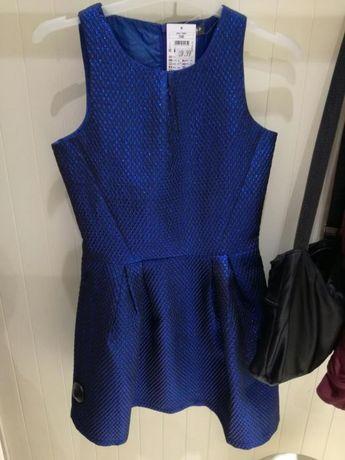 Kobaltowa granatowa sukienka Reserved nowa z metką