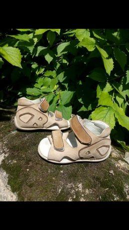 Кожаные ортопедические сандали босоножки 19 р Perlina