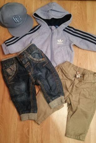 Komplet bluza, 2x spodnie